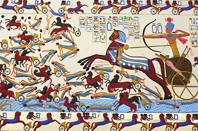 Modern_loose_interpretation_at_the_The_Pharaonic_Village_in_Cairo_of_a_Battle_scene_from_the_Great_Kadesh_reliefs_of_Ramses_II_on_the_Walls_of_the_Ramesseum.png